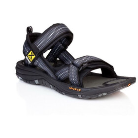 SOURCE Gobi Sandalen Herren chess black